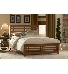 Avery Bed with Rails by Fashion Bed Group Image