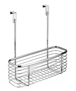 Axis Chrome Over Cabinet Storage Basket