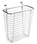 Axis Chrome Over Cabinet Wastebasket
