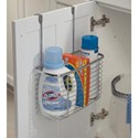 Axis Chrome Over Cabinet Deep Storage Basket