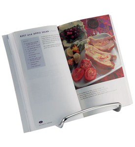 Axis Chrome Cookbook Holder Image
