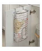 Axis Chrome Over Cabinet Plastic Bag Holder