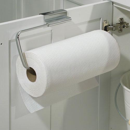 ... Over Cabinet Paper Towel Holder   Chrome ...