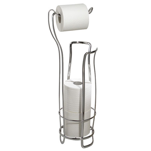 Axis Toilet Paper Holder And Reserve   Chrome Price: $22.99