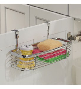 Axis Chrome Over Cabinet Storage Tray Image