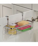 Axis Chrome Over Cabinet Storage Tray