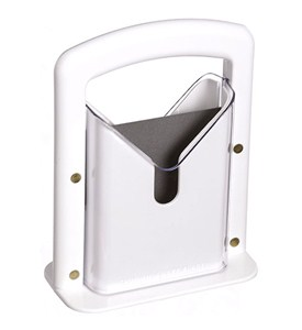 Original Bagel Guillotine Bagel Slicer - White Image