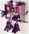 Wall Mount Sports Gear Rack