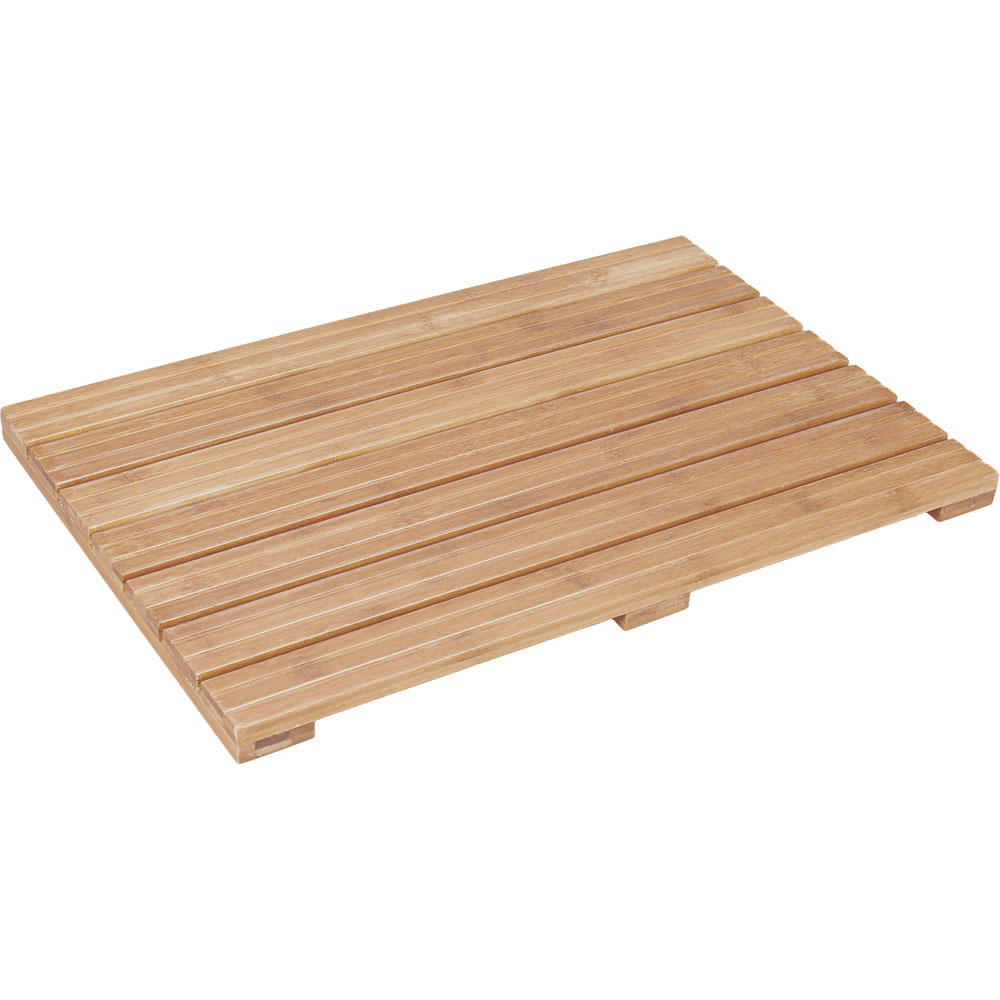 Bamboo Bath Mat Ecostyle In Shower And Bath Mats