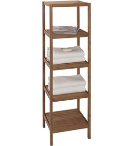 Bamboo Shelving Unit Image