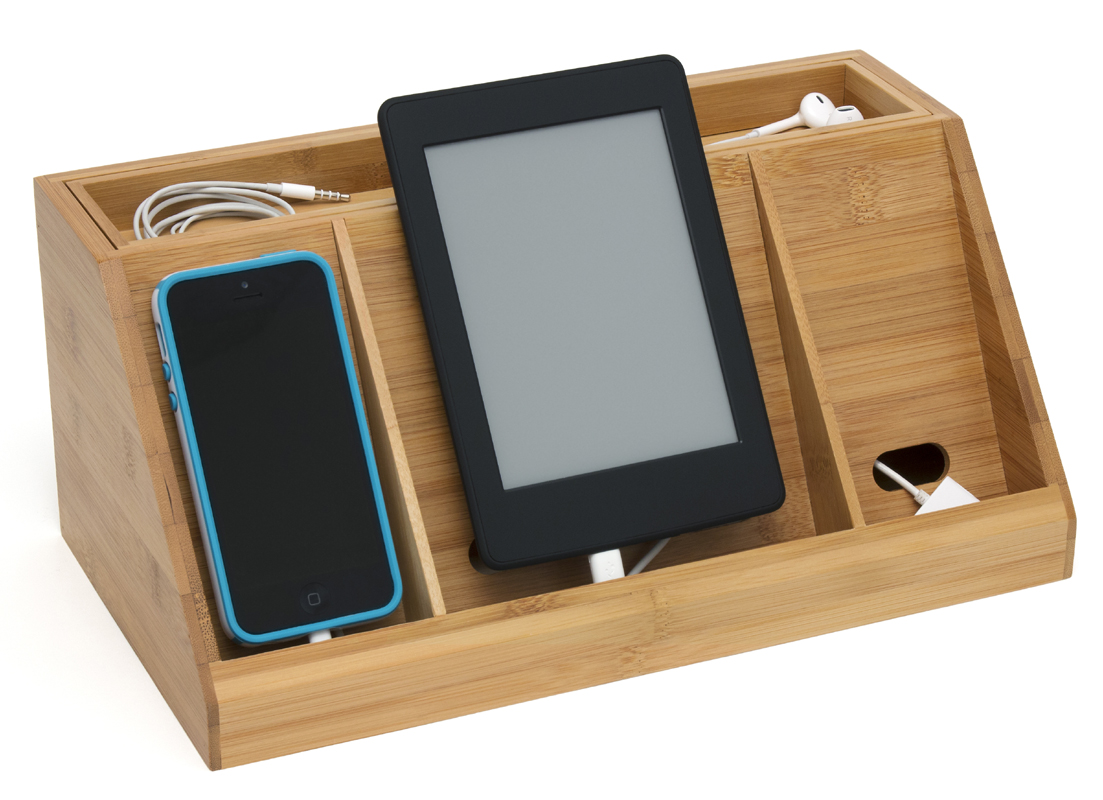 Cell Phone Holders and Charging Stations OrganizeIt