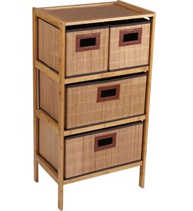 Bamboo Chest of Drawers Image