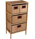 Bamboo Chest of Drawers