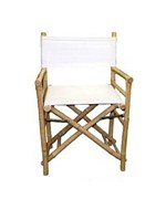 Bamboo Director's Chair - Natural