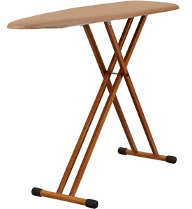 Bamboo Folding Ironing Board Image