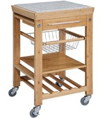 kitchen island carts on wheels origami folding cart target granite top bamboo with drop leaf