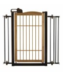Richell Pet Gate - One-Touch Bamboo