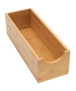 Bamboo Sock Box