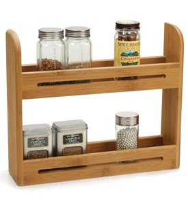 Bamboo Spice Rack Image