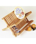 Collapsible Bamboo Dish Rack
