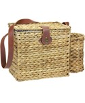 Banana Leaf Picnic Basket - Service for Two