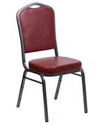 Banquet Stacking Chair - Crown Back