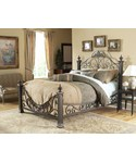 Baroque Bed with Side Rails by Fashion Bed Group