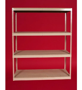 Basc Four Shelf Storage Unit Image
