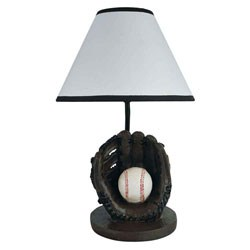 Baseball Accent Lamp by O.R.E. Image