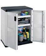 Garage Base Storage Cabinet - Gray