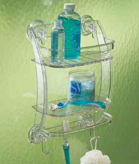 bath organizers and accessoriess