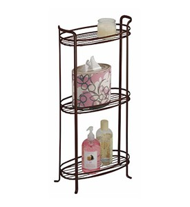 3-Tier Bathroom Shelf - Bronze Image