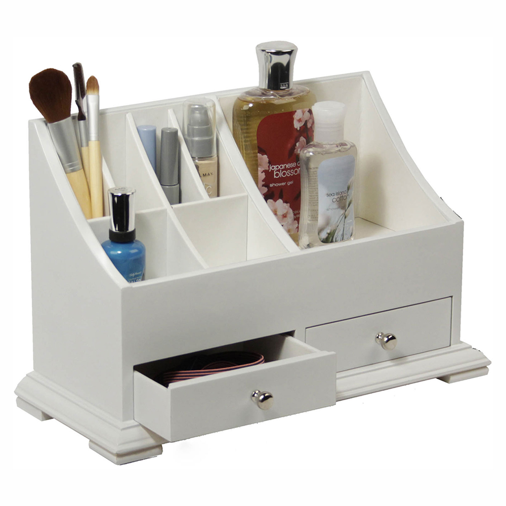 Bathroom countertop organizer in bathroom organizers for Bathroom organizers