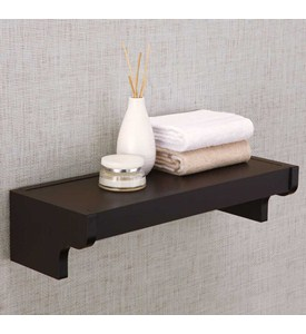 Bathroom Shelf - Wood Image