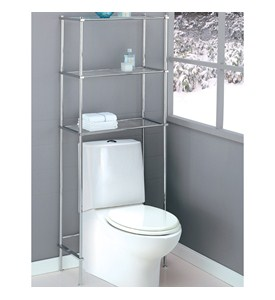 Bathroom Over Toilet Space Saver Image
