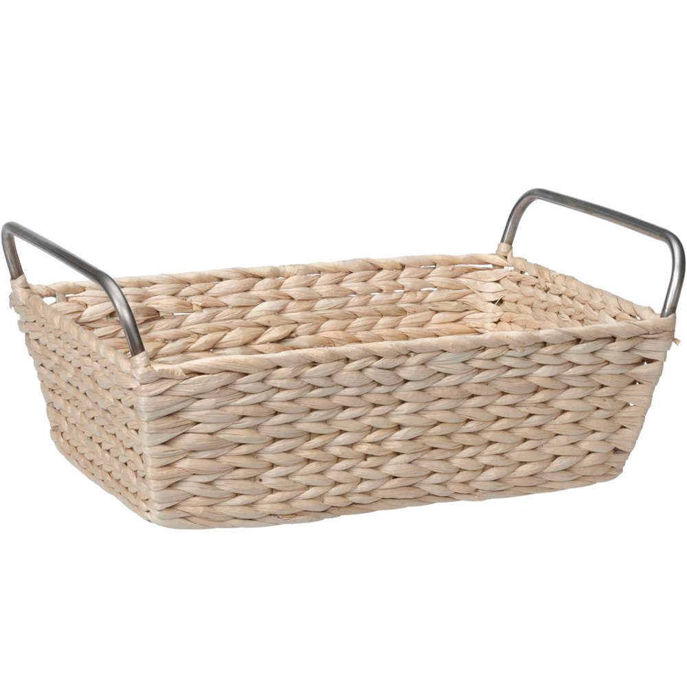 Next Woven Basket : Bathroom storage basket in wicker baskets