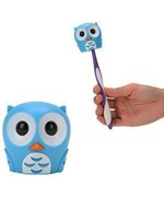 Bathroom Toothbrush Holder - Owl