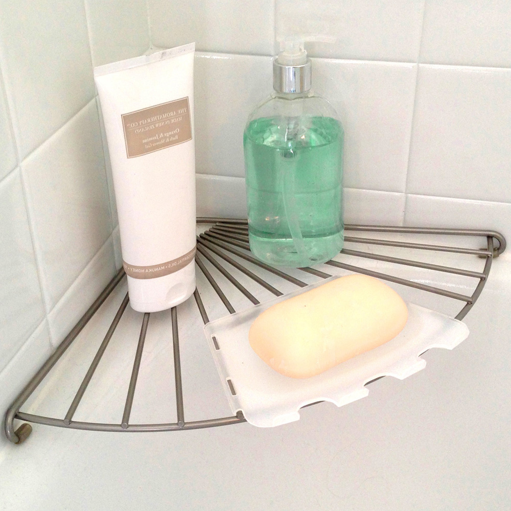 Bathtub Corner Shelf in Tub Caddies and Accessories