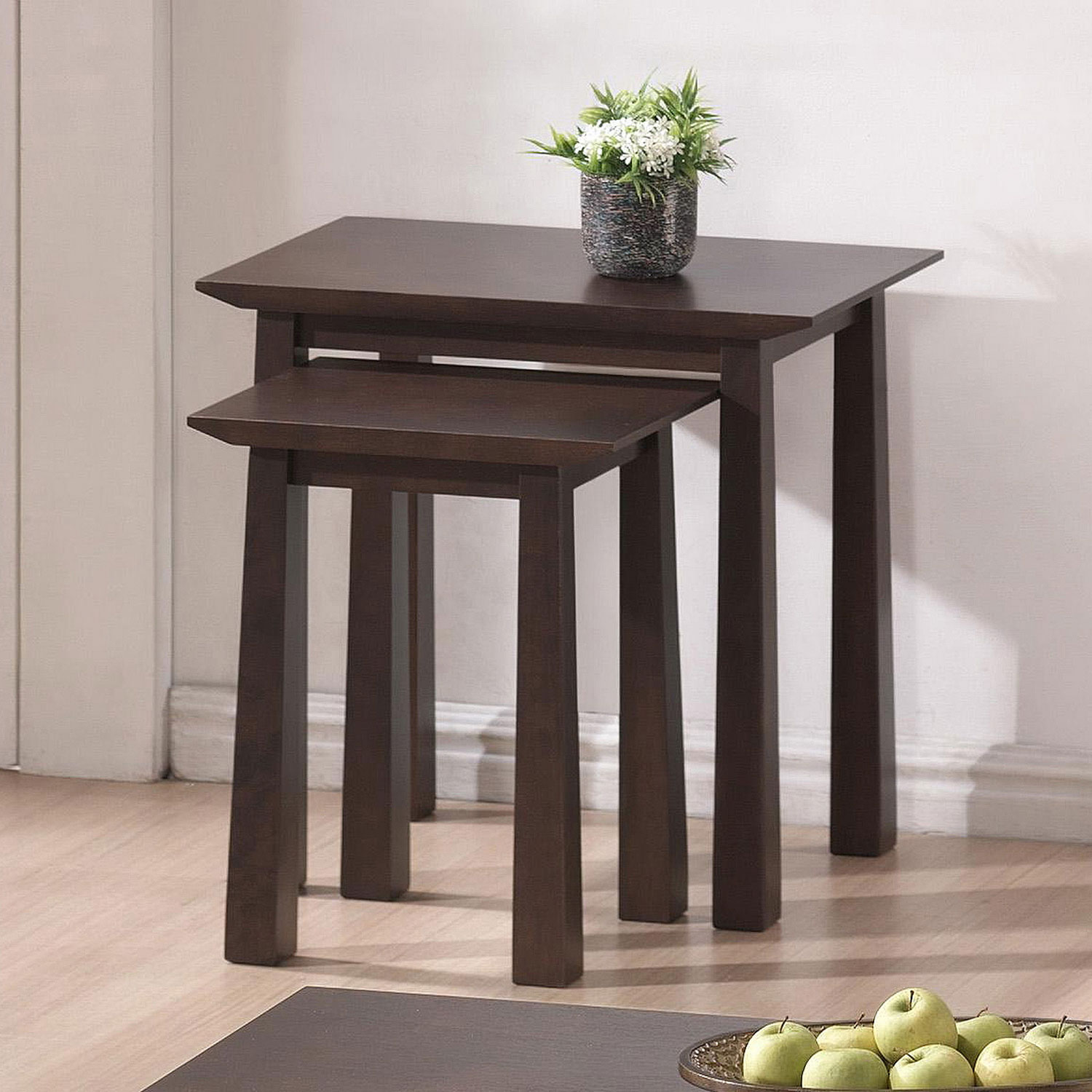 Contemporary Nesting Tables ~ Contemporary nesting tables set of in table sets