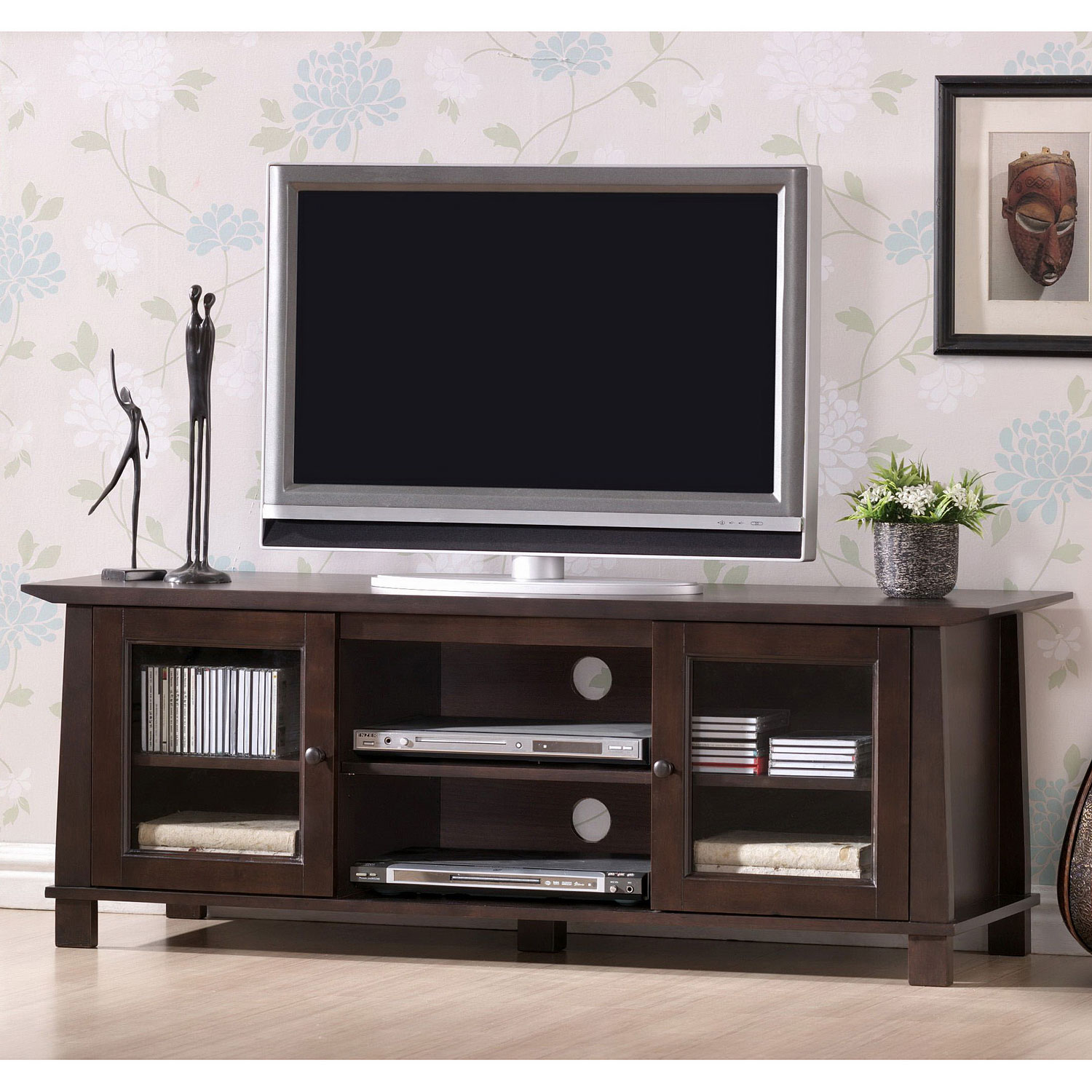 Baxton studio havana modern tv stand by wholesale for Mobilier stand