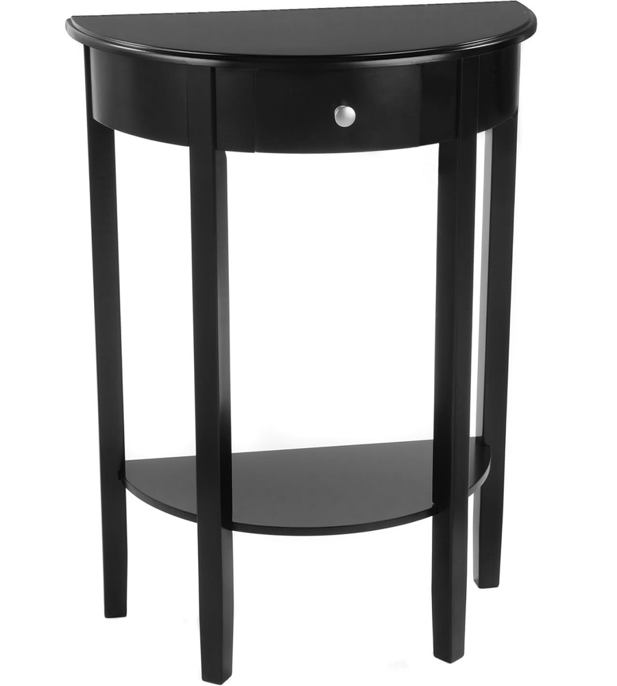 Half Circle Console Table Bay Shore In Accent Tables