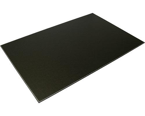 genuine leather desk blotter black in desk accessories. Black Bedroom Furniture Sets. Home Design Ideas