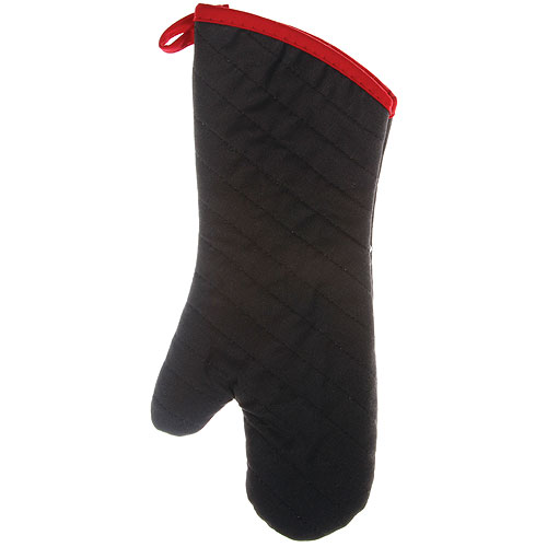 Pyrotex Bbq And Oven Mitt Black In Aprons And Oven Mitts