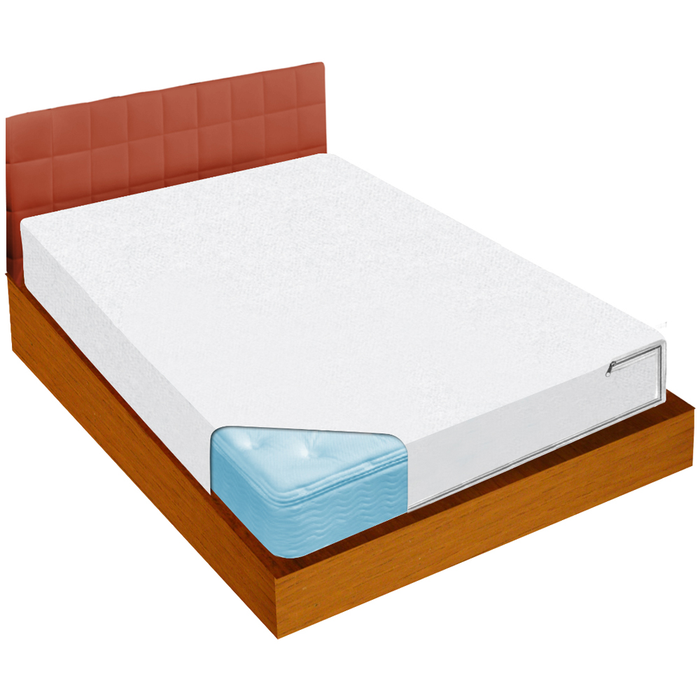Bed bug blockade mattress covers in mattresses for How to cover a bed