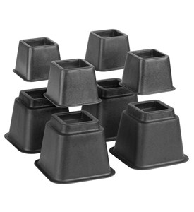Bed Risers - Adjustable (Set of 8) Image