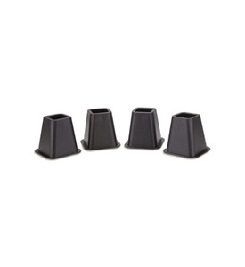 Plastic Bed Risers - Black Image
