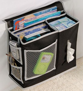 Bedside Storage Caddy - Black Denier Image