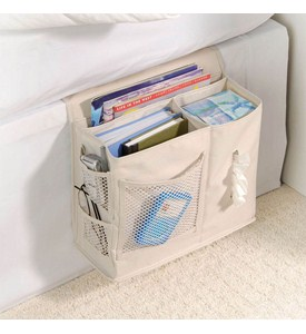 Bedside Storage Caddy - Natural Denier Image