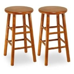 Beechwood 24 Inch Counter Stool Set of 2 Image