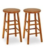 Beechwood 24 Inch Counter Stool Set of 2